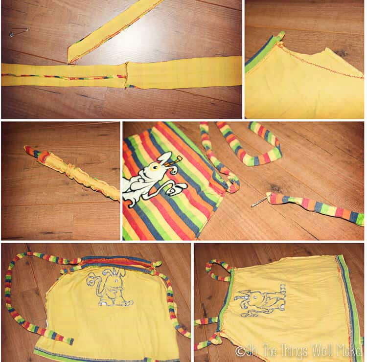 How To Make A T Shirt Bag 8 Ways To Make A Bag From A Shirt Oh