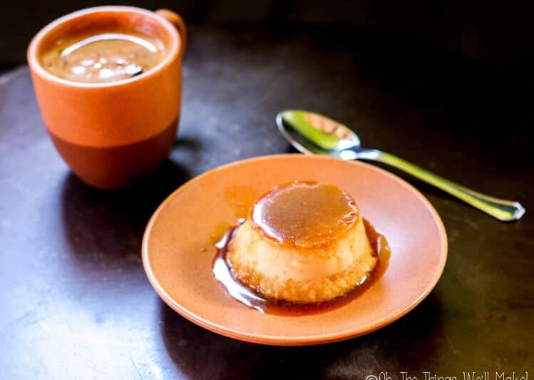 Coconut Flan Recipe - Oh, The Things We