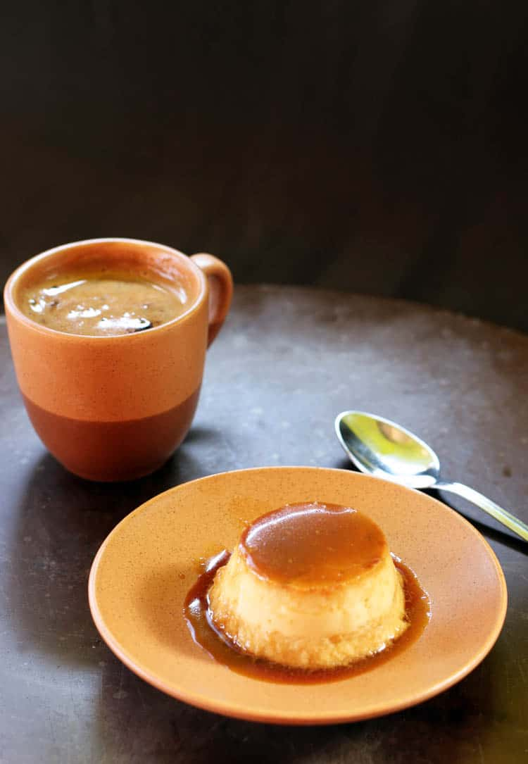 This coconut flan recipe doesn't use condensed or evaporated milk; only real food ingredients. It's sweet, creamy, and delicious.