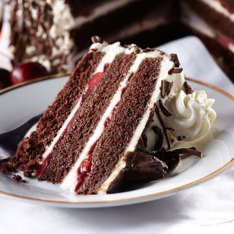 German Black Forest Cake Recipe