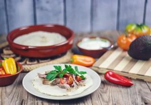 Slow Cooker Pork Carnitas with Homemade Corn Tortillas (& Paleo Version)