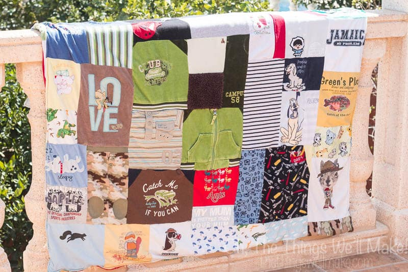 The Fine Line Between Being a Hoarder and Being Sentimental: The Baby Clothes Keepsake Quilt