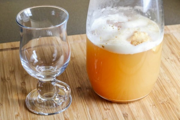 "How to Make Kefir ""Hard"" Cider Using Milk Kefir Grains"