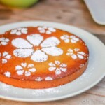The Tarta de Santiago, also known as the St. James Cake, is a naturally gluten-free traditional Spanish almond cake which can be easily adapted for paleo and GAPS diets. #almondcake #paleo #GAPS #spanishcuisine #tartadesantiago #cakes
