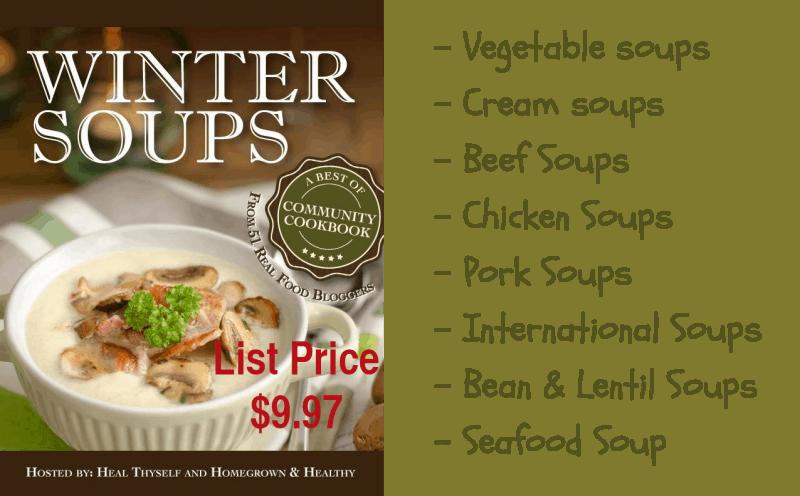cover of Winter Soups e-cookbook