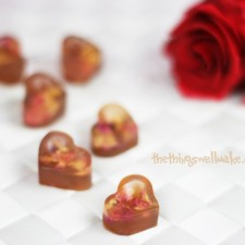 Rose Petal Gummies for Valentine's Day