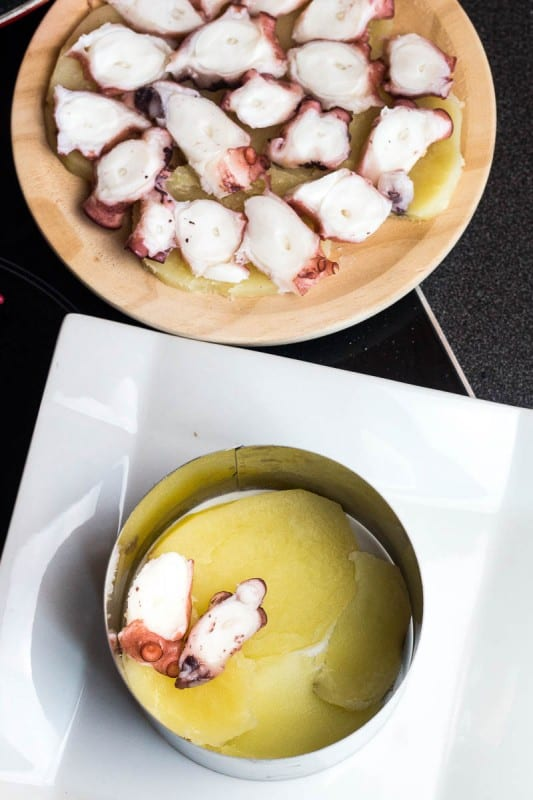 Pulpo a la Gallega, Galician Style Octopus, is one of my favorite seafood dishes. Simple, yet flavorful, it's an easy dish to prepare, yet sure to impress.