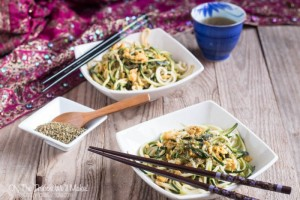 Recipe for Asian Fried Zucchini Noodles