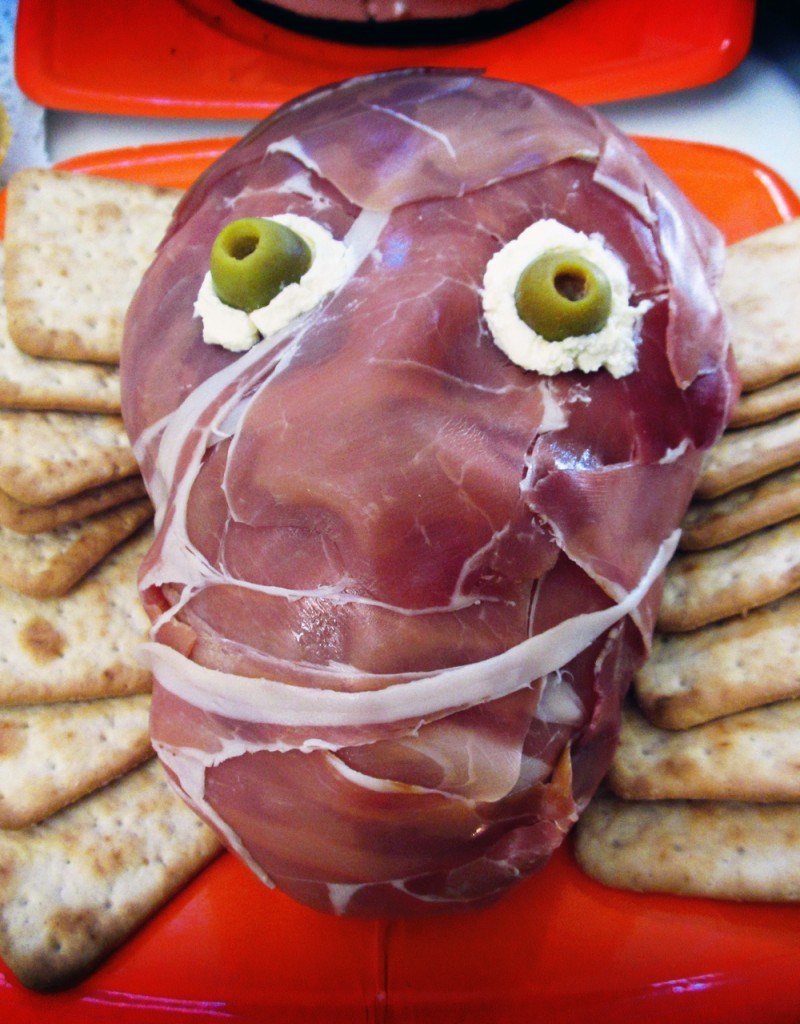 Creepy Prosciutto Face - Oh, The Things We'll Make!