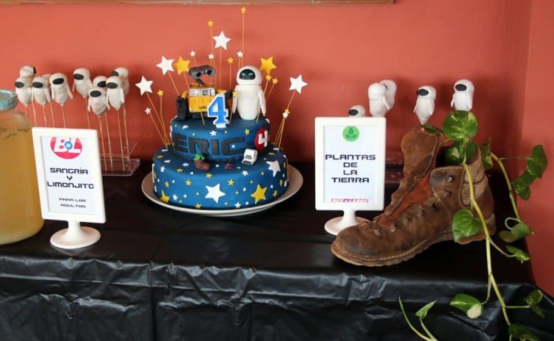 Wall-E Birthday Party Ideas and Decorations - Oh, The Things We'll Make!
