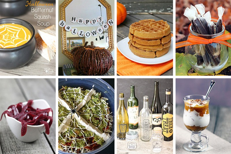 Throw the perfect Halloween party with these Halloween party ideas: healthier Halloween party foods, homemade candy, pumpkin recipes, and craft ideas.
