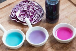 DIY Magical, Color Changing Food Coloring
