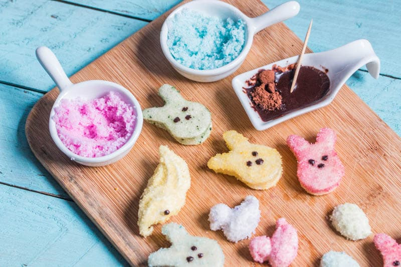 DIY Natural Food Coloring and Homemade Colored Sugar Crystals