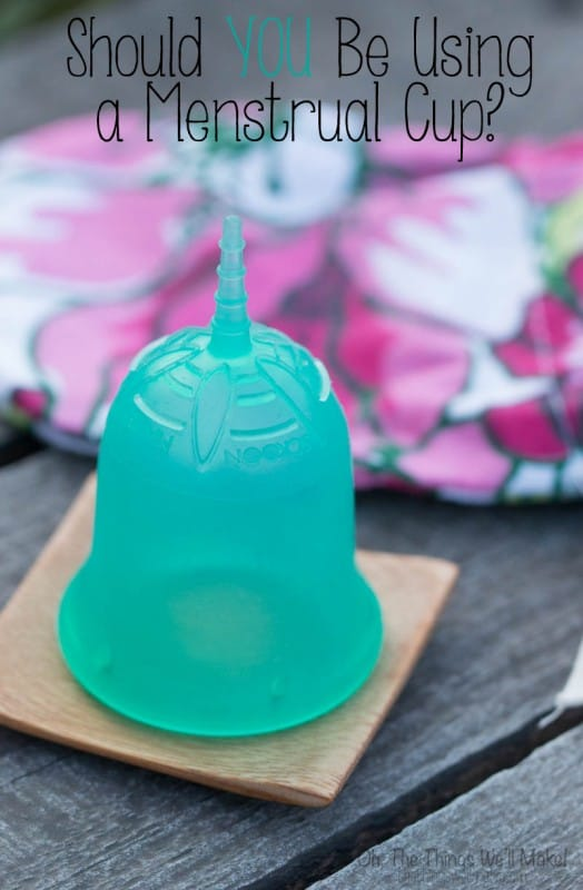 If you haven't tried using a menstrual cup yet, or don't even know what it is, I'll explain what they are and why you might want to give one a try.