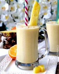 Skinny Aloha Bliss Pineapple Protein Smoothie