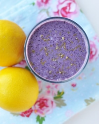 Lemony Blueberry Smoothie