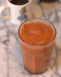 Pumpkin and Cranberry Smoothie
