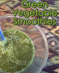Au Naturale Green Vegetable Smoothies