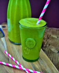 Green Mango and Spinach Smoothie