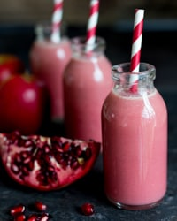 Elderflower & Pomegranate Hot Smoothie