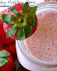 Sugar Free Strawberry Milkshake