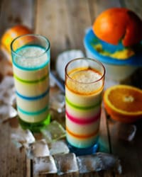 Tahini Coconut Orange Shake