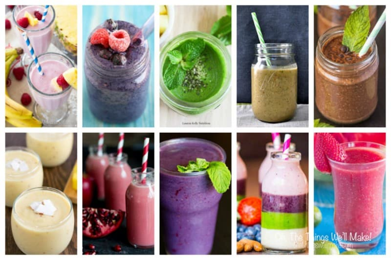This collection of 150 healthy smoothie recipes includes green and berry smoothies, tropical, winter, and chocolate smoothies; something for everybody.