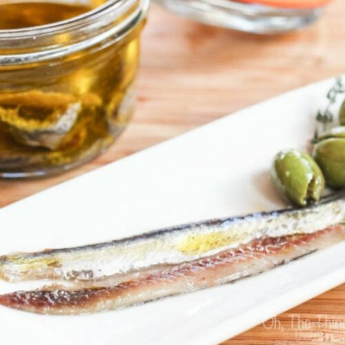 Homemade salt cured anchovy fillets are easy to make, healthy, and very tasty. Read how to clean the fish, cure it, and store it.
