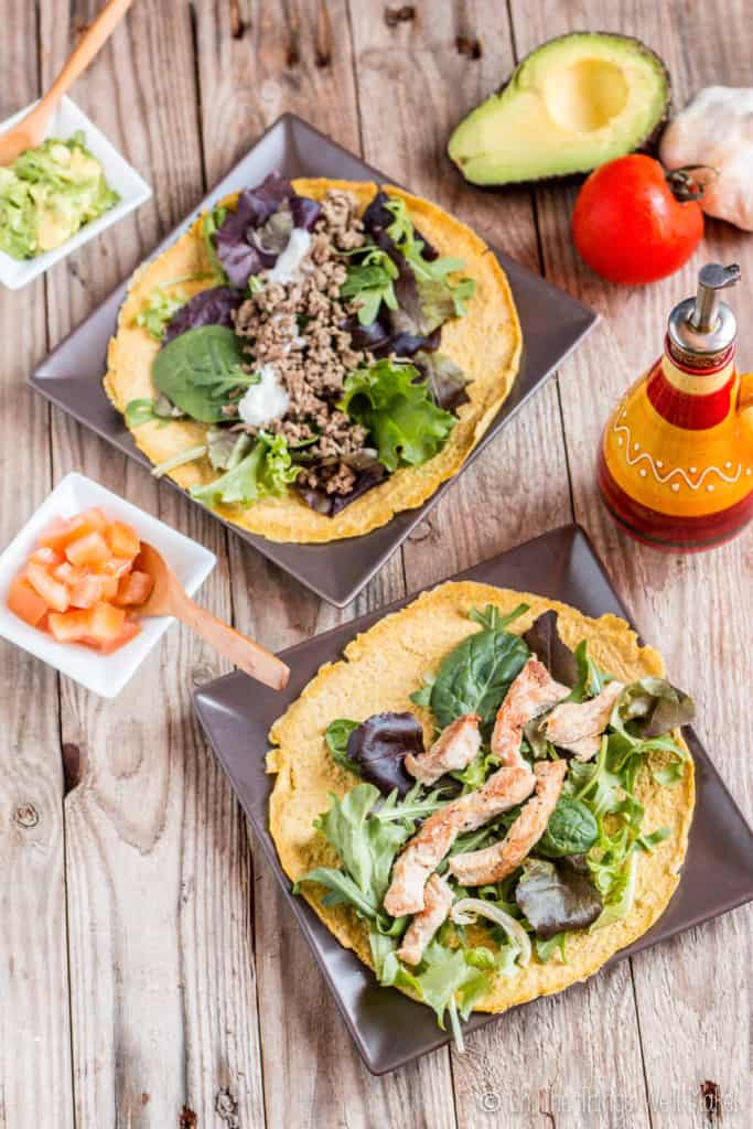 These quick, pliable, low carb, paleo tortillas are my go to recipe now whenever we cook Mexican foods or I want to make myself a sandwich or lettuce wrap.