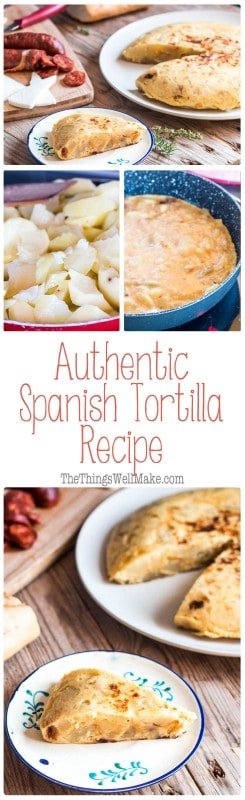 Learn how to make the ultimate Spanish comfort and party food, a potato omelette or frittata, with this authentic Spanish tortilla recipe.