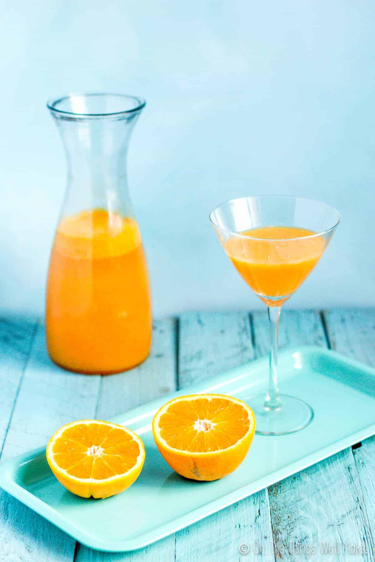 Fresh orange juice and cava take center stage in this agua de Valencia recipe. Learn how to make this popular Spanish cocktail reminiscent of the mimosa.