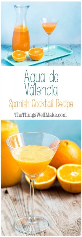 Oranges and cava take center stage in this agua de Valencia recipe, which will teach you how to make this delicious Spanish cocktail reminiscent of a mimosa.