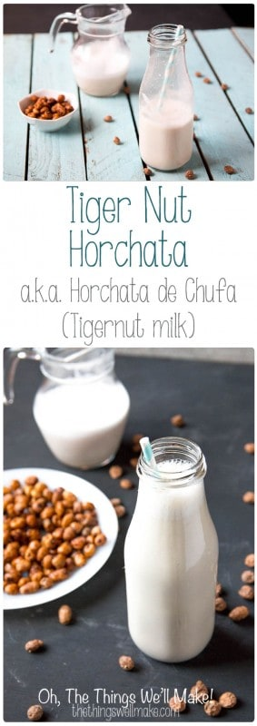 Tigernut horchata, also known as tigernut milk or horchata de chufa, is regaining popularity outside of Spain because of its numerous health benefits. Learn how to make it, and how you can make tigernut flour with the leftover pulp.