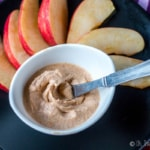 Mascarpone cheese gives this simple, sweet pumpkin pie dip a sweet creaminess that you'll want to eat right off the spoon, or on apple wedges or cookies. #thethingswellmake #miy #pumpkins #pumpkindip #pumpkinpie #pumpkinspice #thanksgivingrecipes #fallrecipes #pumpkinrecipes #dips #mascarpone #holidayrecipes #autumnrecipes