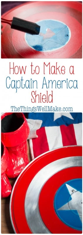 Making a superhero costume couldn't be complete without the right props! Find out how to make a Captain America shield easily by repurposing inexpensive items.