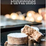 This mantecado and Spanish polvorón recipe will allow even those following a gluten free or grain free diet to enjoy these soft and crumbly Spanish Christmas cookies. #mantecados #polvorones #Christmascookies #spanishrecipes #grainfree #glutenfree #thethingswellmake #miy
