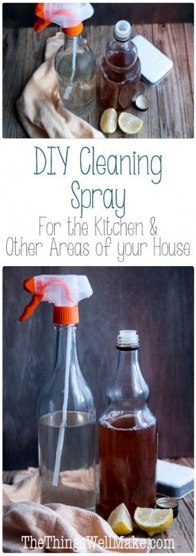 cleaning spray for kitchen