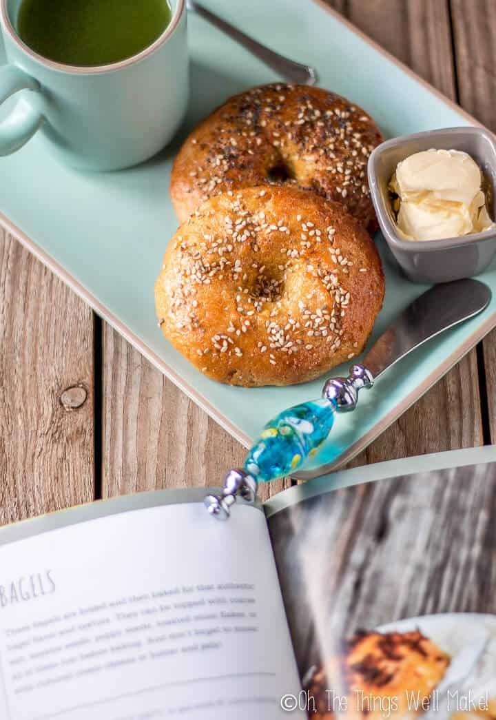 grain free bagels from Without Grain cookbook