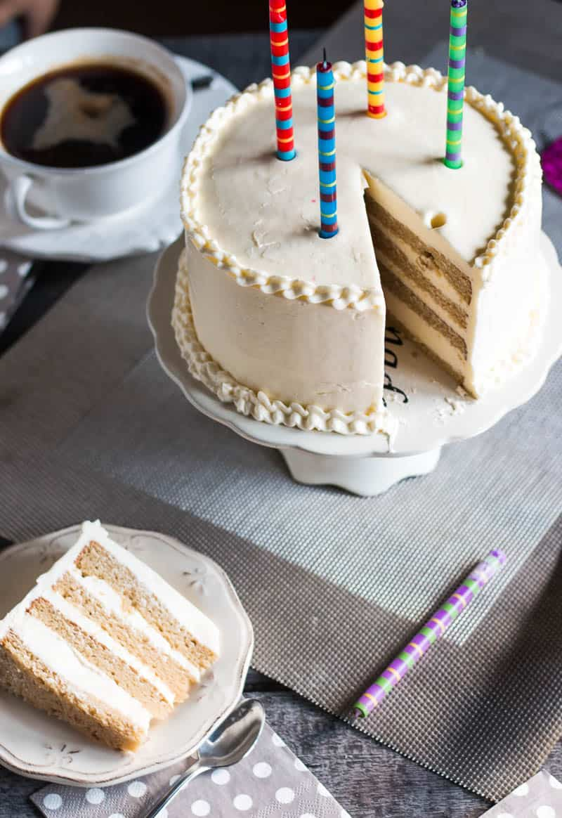 Creamy, stable, and easy to spread, this swiss buttercream frosting is by far my favorite frosting. I've tried many buttercreams and ganaches, but this one almost always ends up on at least part of every cake I bake.