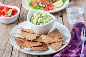 Flaxseed Paleo Tortilla Chips and Taco Shells