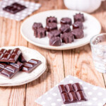 These homemade healthy chocolate bars and mints are super quick and easy to make. They're vegan, paleo, and even candida diet safe!
