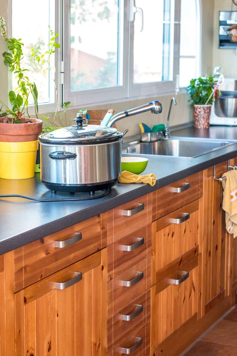 Keep your kitchen clean while you work by using these tips to easily stay organized and clean as you go.