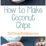 Buying a fresh coconut can be intimidating, but it's easy to make coconut chips or flakes (or toasted coconut chips) once you know how. I'll show you a simple way to make them quickly.