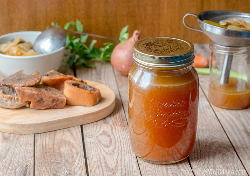 Nourishing and good for you, bone broth is simple to make and is the base of many healthy broth recipes. Today, I'll show you how to make beef bone broth, storage ideas, and how to use it.