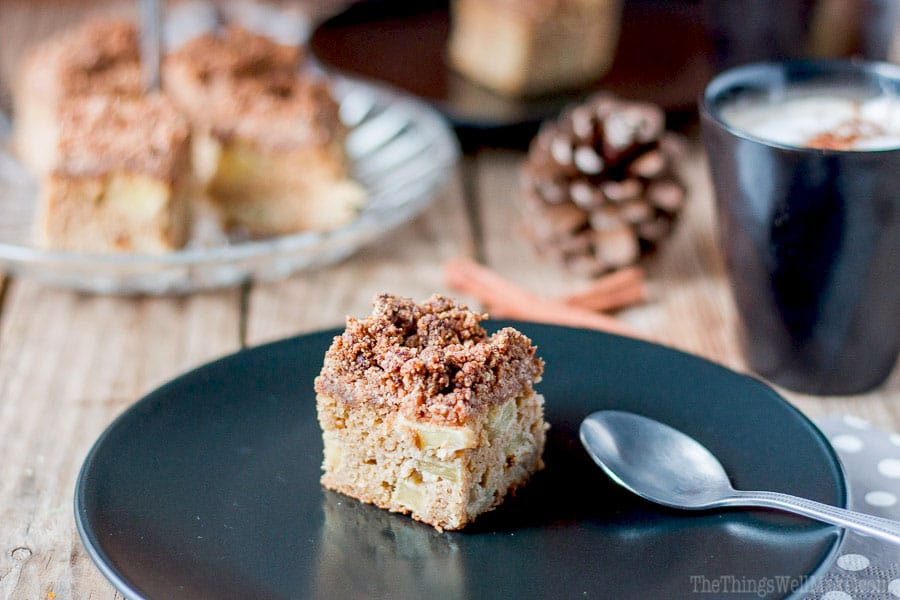 ... crumb topping, this paleo apple crumb cake is definitely one of my