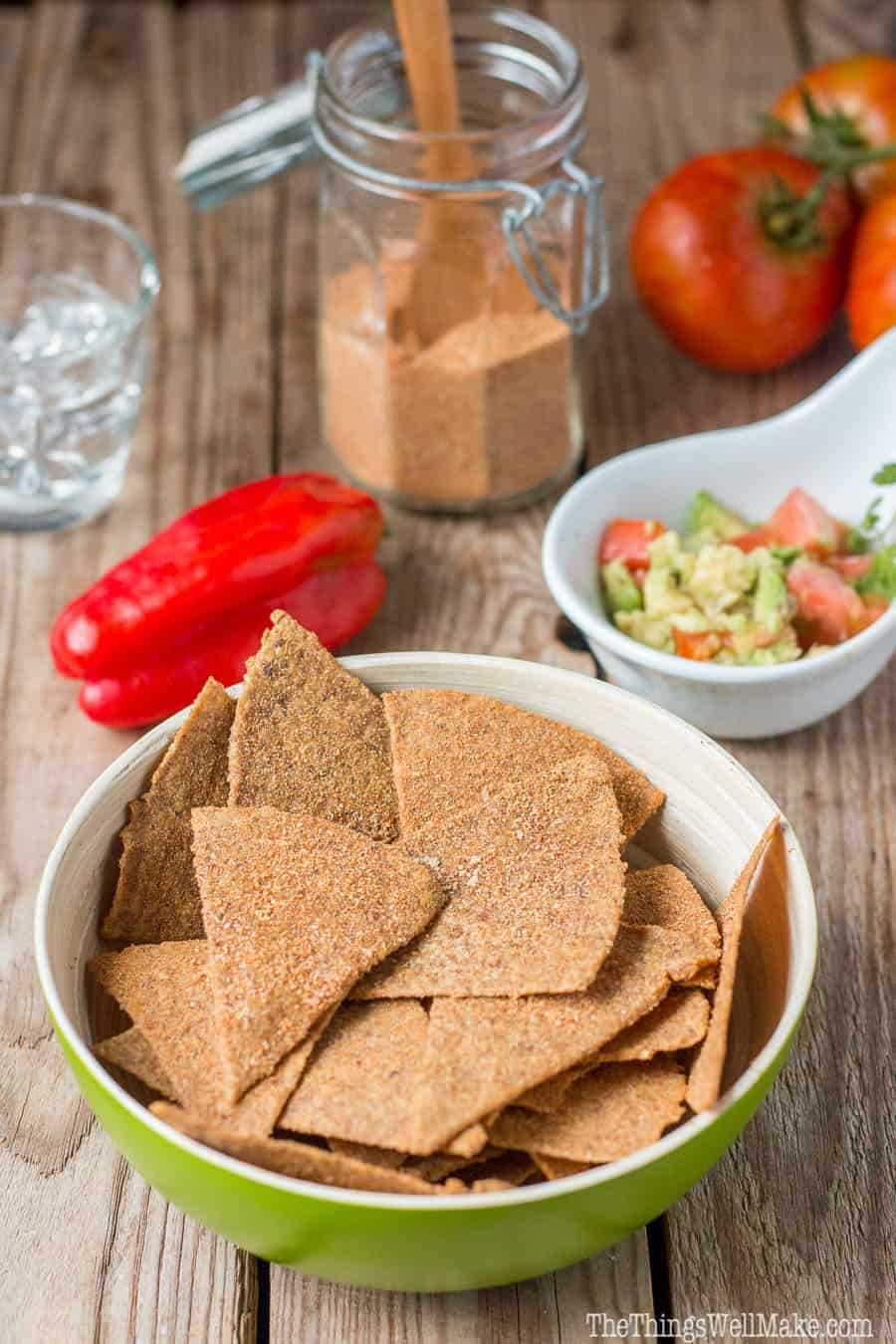 Paleo doritos like chips recipe oh the things well make crispy and coated with a tasty mexican spice blend these paleo doritos like chips are forumfinder Choice Image