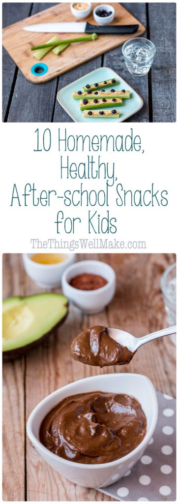 Tired of making the same old snacks? Try some of these fun and healthy after-school snacks for kids.