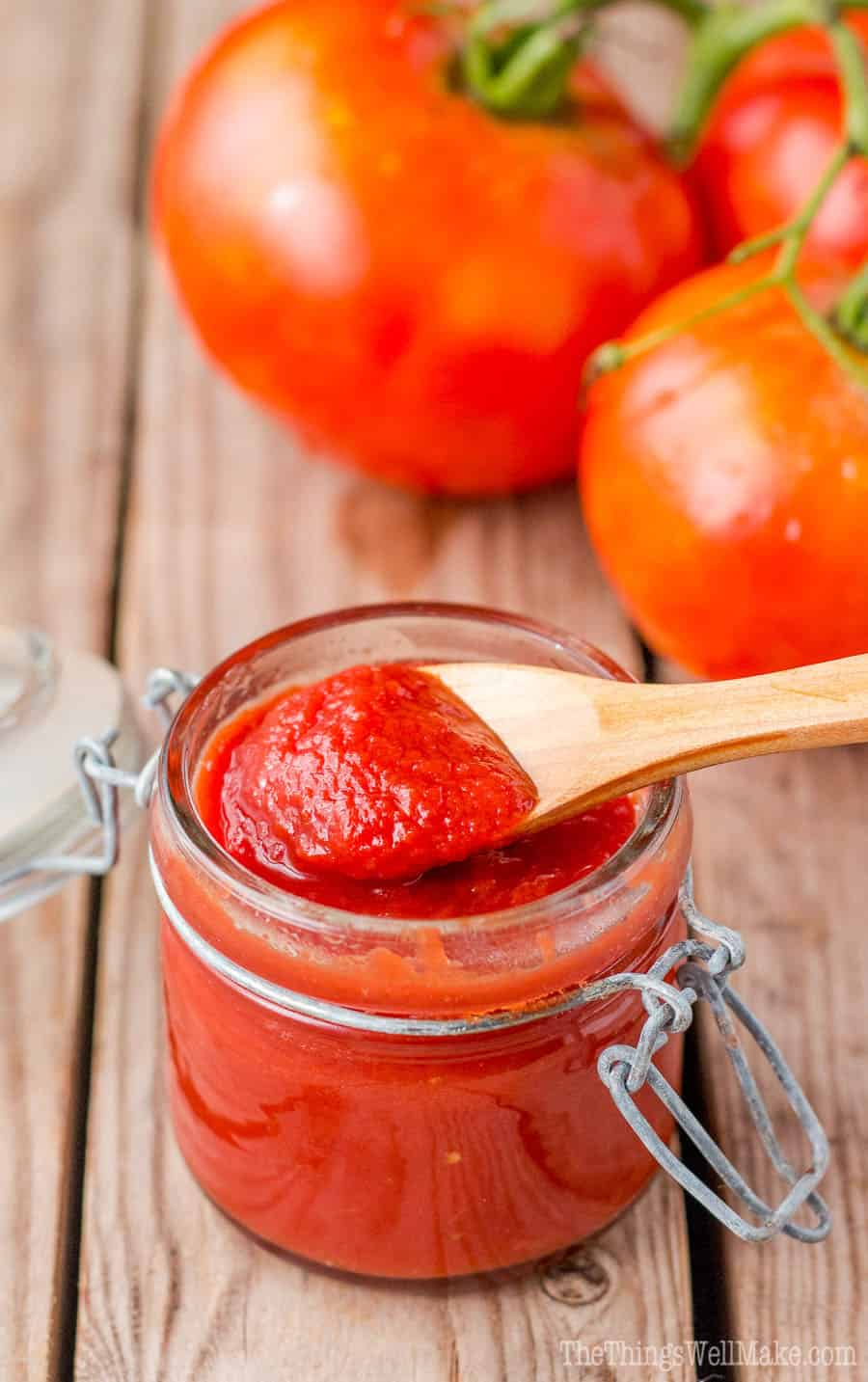 Easy Homemade Tomato Paste Recipe - Oh, The Things We ll Make!
