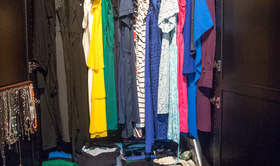 Dressing Your Truth Type 1 closet