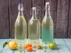 How to Make Homemade Limoncello, Limecello, and Mandarinecello (2 Ways)